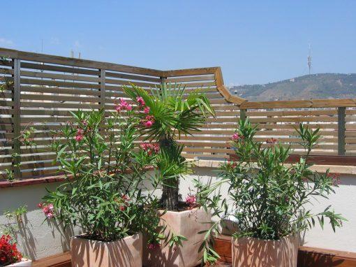 Proyecto y ejecución de terraza en Pedralbes