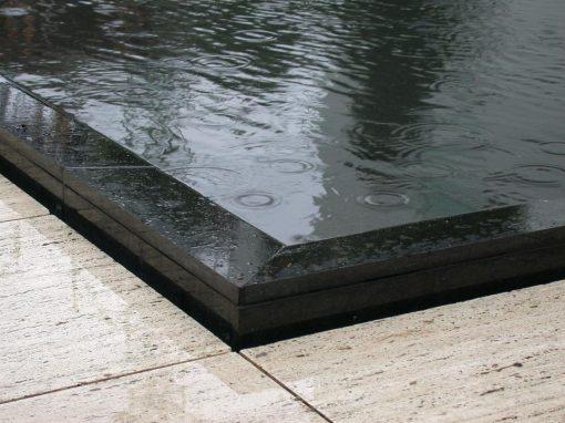 Proyecto y diseño paisajístico de jardín con piscina en Pedralbes